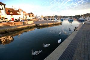 Lymington-Quay-early-morning